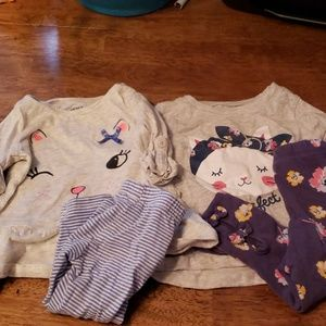 3 6-12 month girl outfits